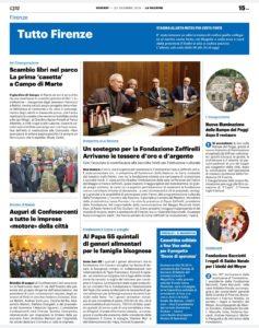 Quotidiano nazionale, 20 dicembre 2019