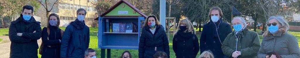 Al giardino del Lippi una casetta per lo scambio gratuito di libri