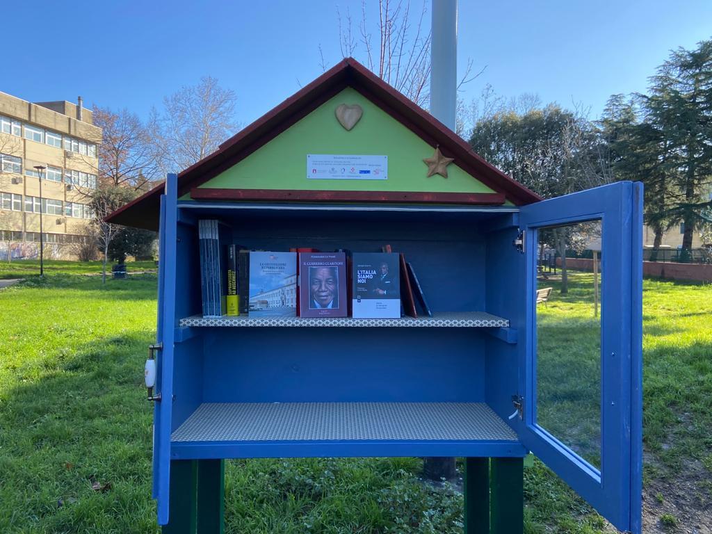 La Biblioteca di comunità, progetto Mef
